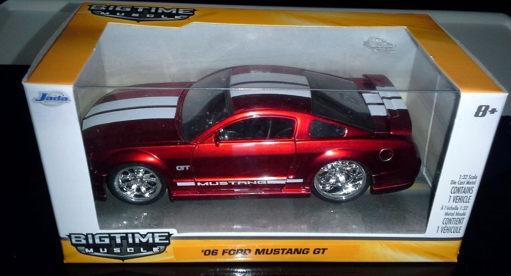 Jada 2015 Big Time Muscle 1 32 Scale 06 Ford Mustang Gt Ford