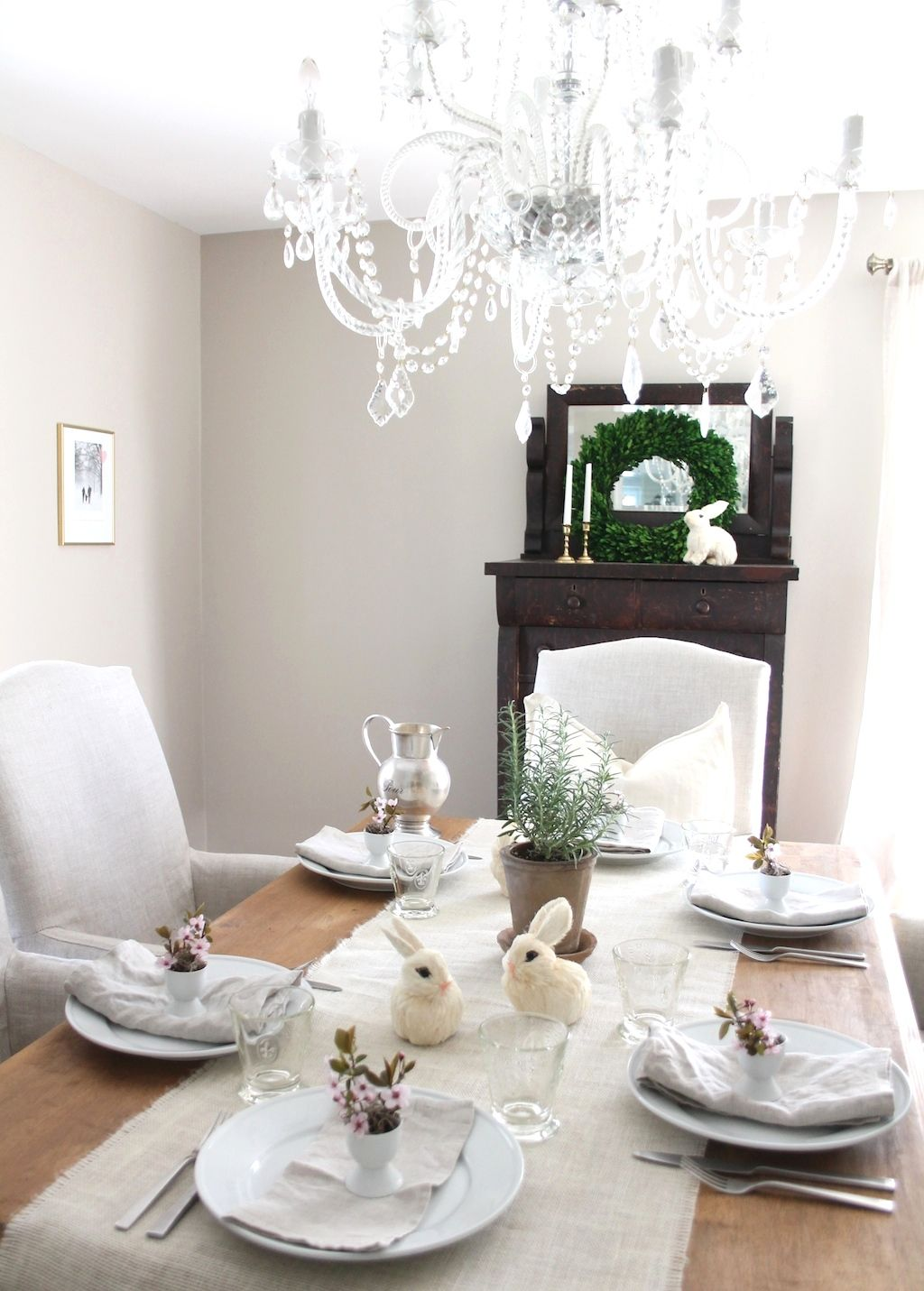 Easy Easter table setting | inspiring home ideas by bloggers ...