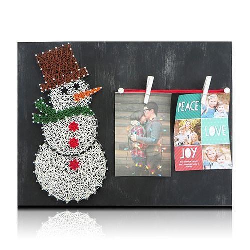 Snowman Picture Frame Kit