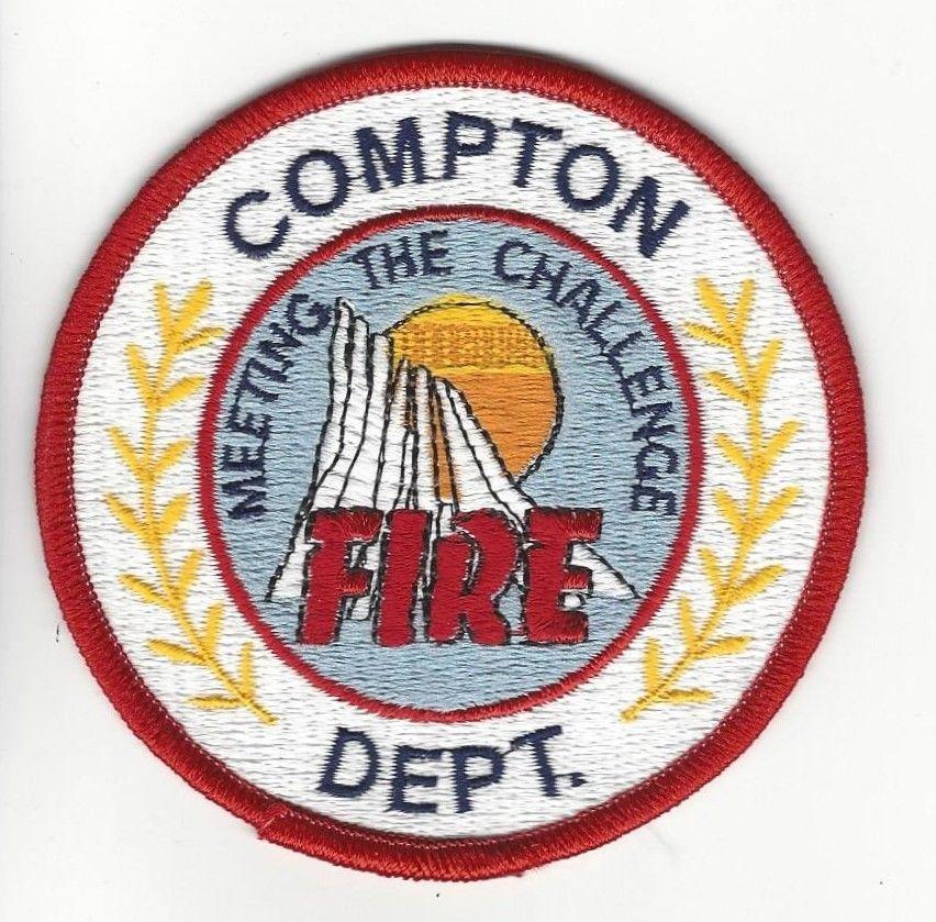 patch Fresno CA California Fire EMS Dept Fresno County NEW!