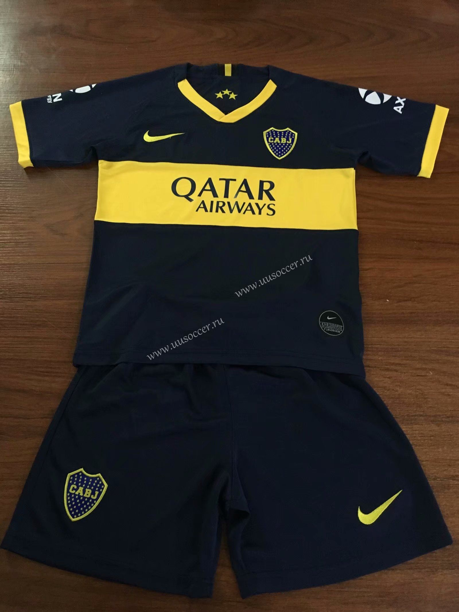 2019 2020 BOCA Juniors Home Blue KidsYouth Soccer Uniform