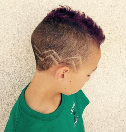 Little Girl Zigzag Mohawk Cornrows And Braid Up Bun I Love It Bun Hair Styles Natural Hair Styles Kids Hairstyles
