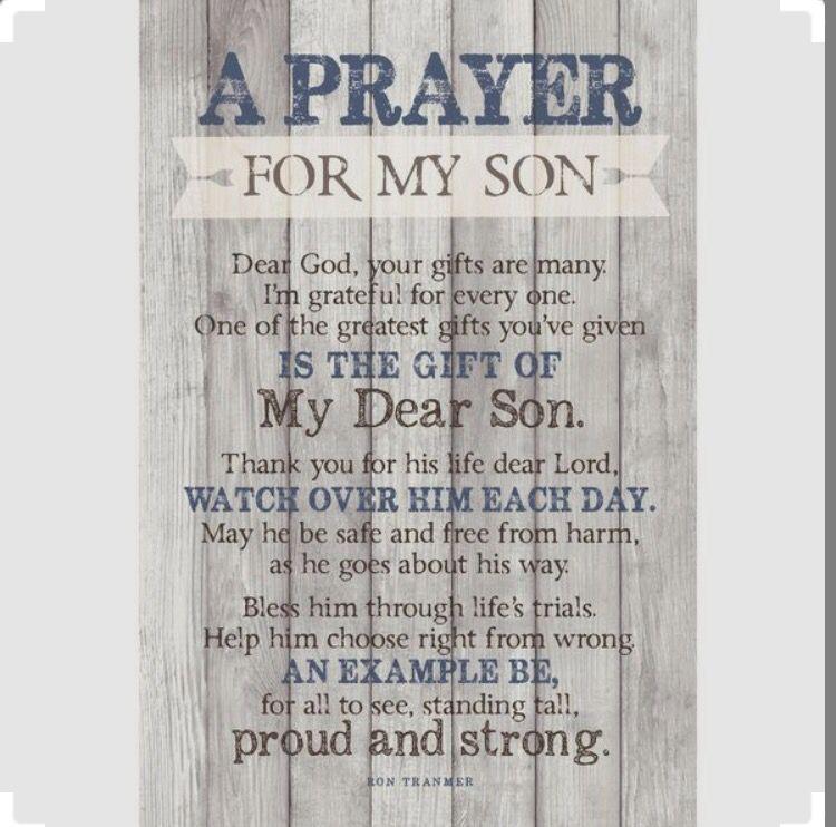 Prayer for my son   2019 graduation party ideas ...