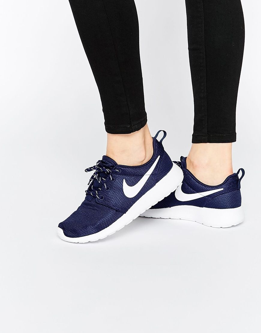 promo code ee555 072ed Nike Midnight Navy Roshe One Trainers | Get in my closet ...