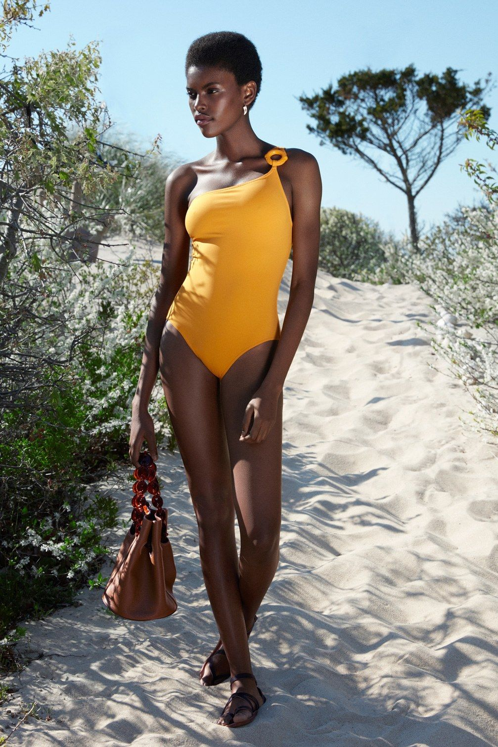 Amilna Estevao in her Swimsuit, Blessing the Beaches of Angola
