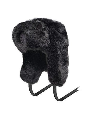 Authentic Nobis Sugar Lips Russian Fur HAT (Black)
