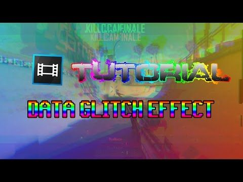 Tutorial Sony Vegas : Data Glitch Effect - YouTube | Tutorials