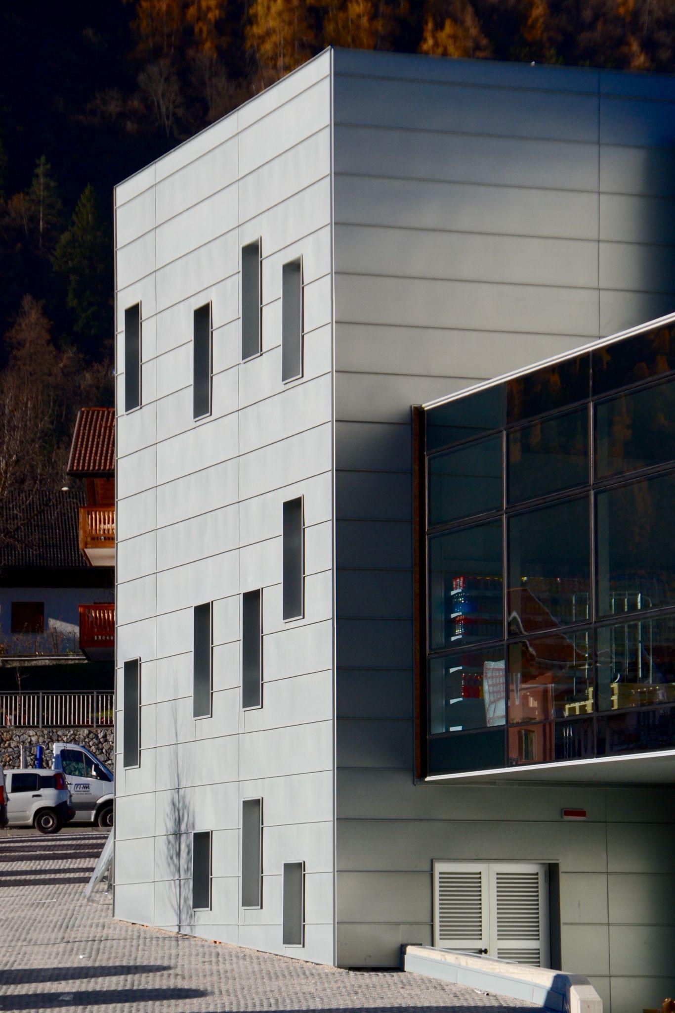 Zinc Metal Wall Panels - RHEINZIINK | Zinc Wall (Facade