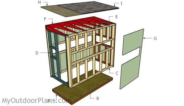 Building A 4x8 Deer Blind Deer Blind Plans Deer Box