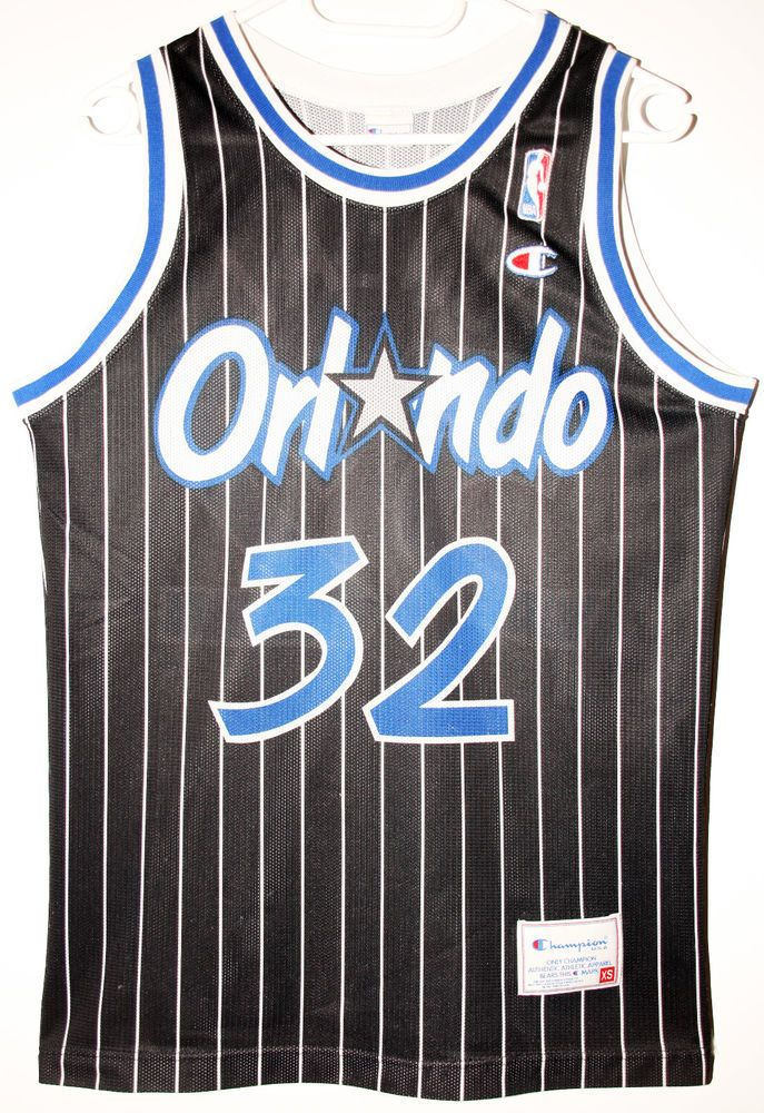 Champion NBA Basketball Orlando Magic  32 Shaquille O Neal  d516bbb07