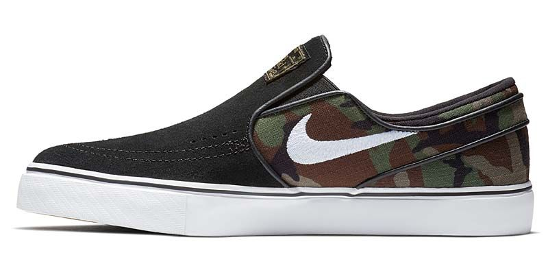 NIKE SB ZOOM STEFAN JANOSKI SLIP [BLACK / WHITE-MULTI-COLOR] 833564