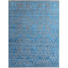 Joy Hand-Tufted Blue Area Rug