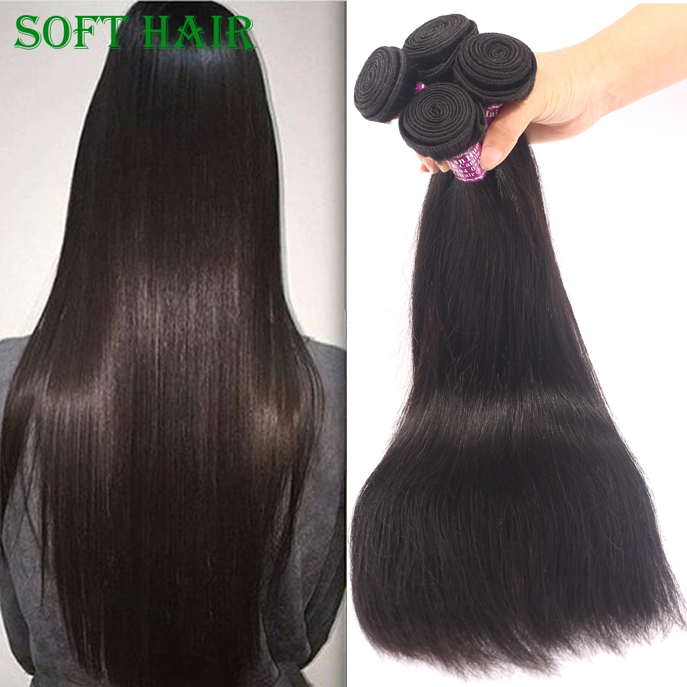 (95.00$)  Buy here - http://aidvg.worlditems.win/all/product.php?id=32768034695 - Unprocessed 3 bundles Natural Black Color Straight Virgin Indian Remy Hair Virgin Hair Straight Human Hair Fast Free Shipping