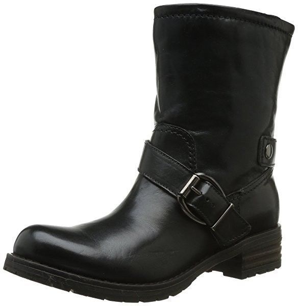 clarks black boots size 4