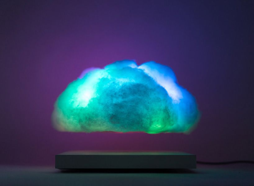 The Full Rotational Movement And Slight Vertical Bobbing Of The Cloud  Creates A Realistic Atmospheric Experience