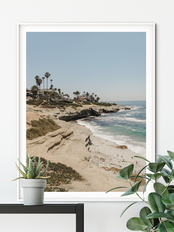 California Beach Wall Art San Diego Print La Jolla Coves Digital Download Ocean Waves Surf Print Laguna Beach Photography Boho Decor In 2020 Beach Wall Art Coastal Wall Art California Wall Art