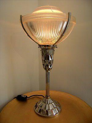 Art Deco Lampe Luster Jugendstil Antik Deckenlampe Wie Degue Oder Muller Freres Eur 7 10