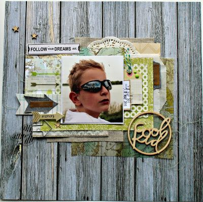 Scrapping with Thamar: Scrapuitdaging bij cards & scrap