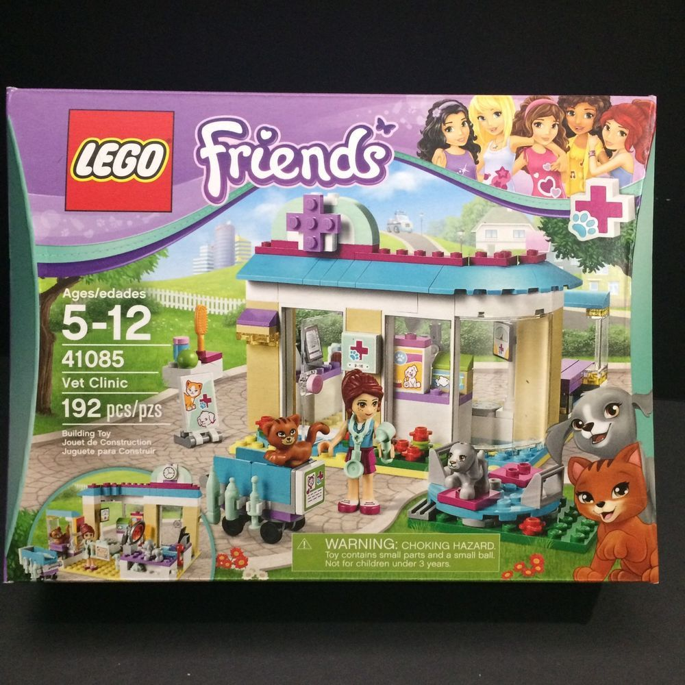 Lego Friends Vet Clinic 41085 Mia Pets Health Career Pretend Play Toys Hobbies Building Toys Lego Ebay Lego Friends Vet Clinics Pet Clinic
