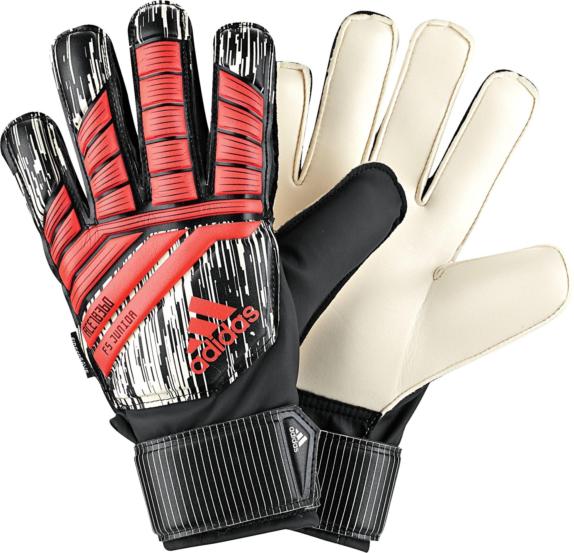 16ed87cf9a98 adidas Predator Fingersave Junior Soccer Goalkeeper Gloves