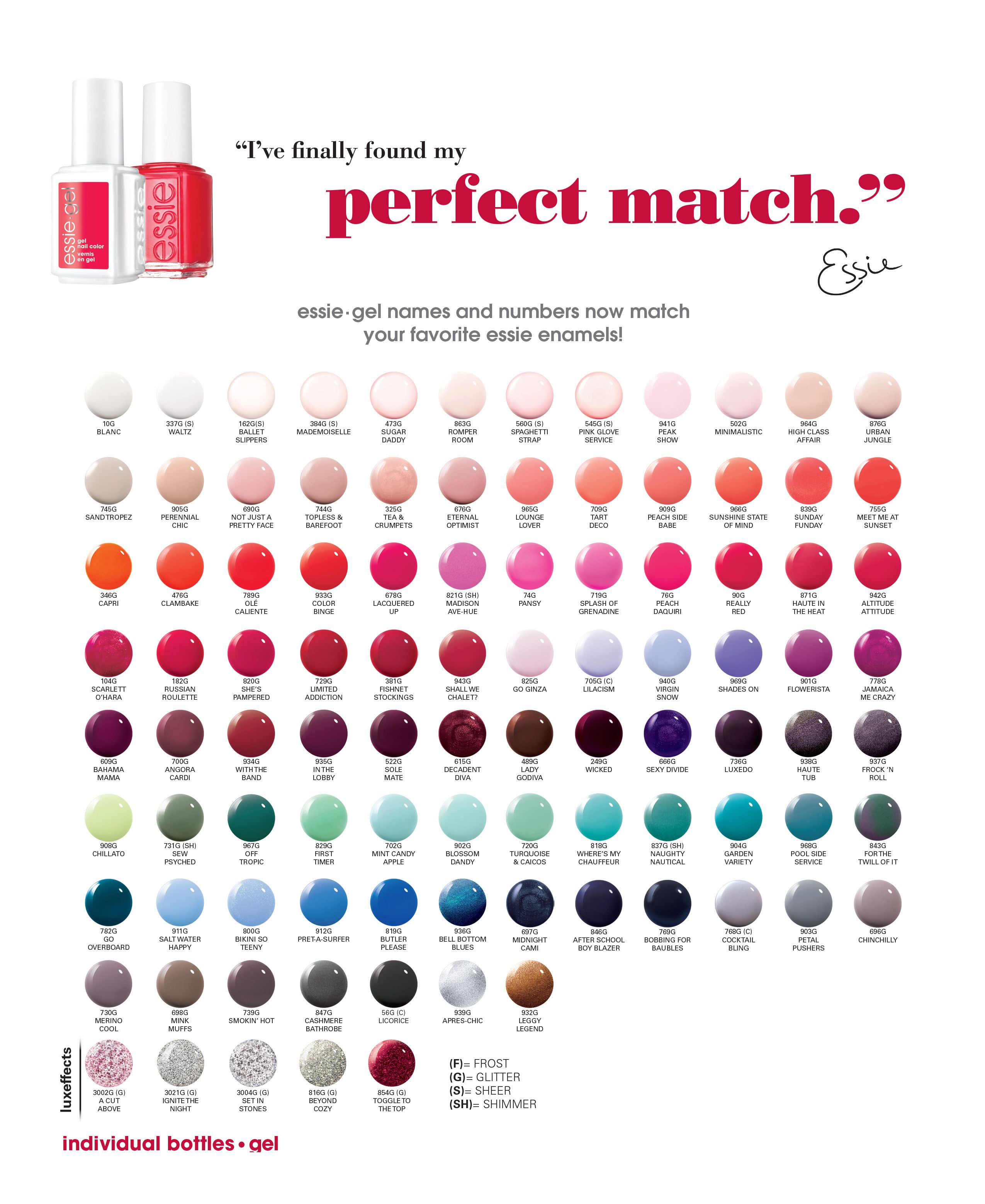 Find this pin and more on nails by christina irvin carrion see essies gel color equivalents also essie chart items in outletnail store ebay your rh pinterest