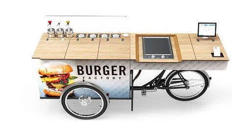 Food Bike Imbisswagen Verkaufsrad Paul Ernst Street Food