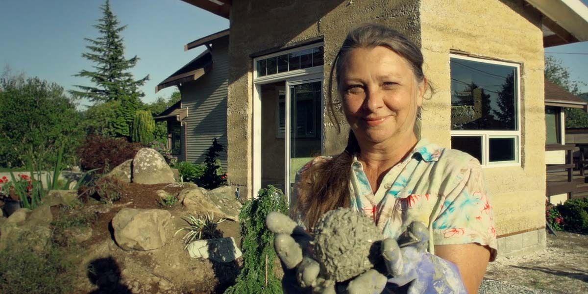 Kenevirden sürdürülebilir, minik ev yapan Pam Bosh-  #ekomimari