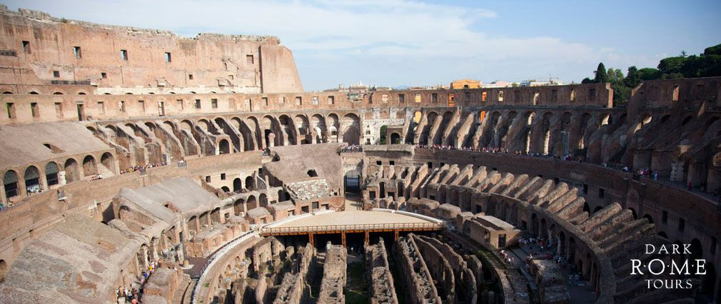A Bird S Eye View Of The Roman Colosseum From The Third