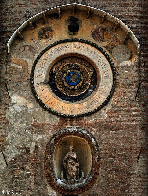 Torre dell ' orologio - Mantova
