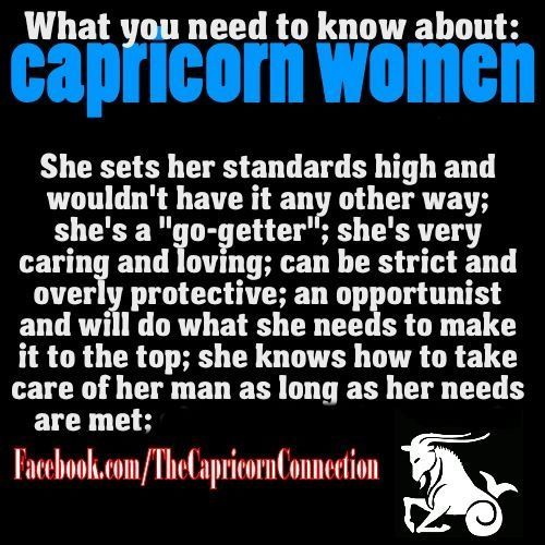 Things To Know Before Dating A Capricorn Woman