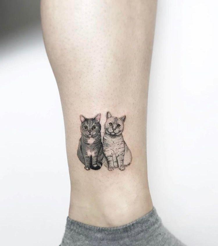fast med mina katter tattoos tattoo ideen katzen tattoo und t towierungen. Black Bedroom Furniture Sets. Home Design Ideas