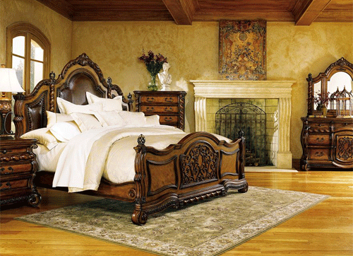 10 Romantic And Luxurious Tuscan Bedrooms Decorating Room Tuscan Bedroom Tuscan Decorating Home