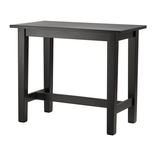Stornas Table De Bar Brun Noir 127x70 Cm Table De Bar Ikea Table Bar Et Table Haute Ikea