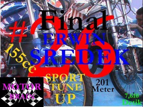 Drag Bike – Erwin Sredek #26 Final Sport 2Tak Tune Up 155cc