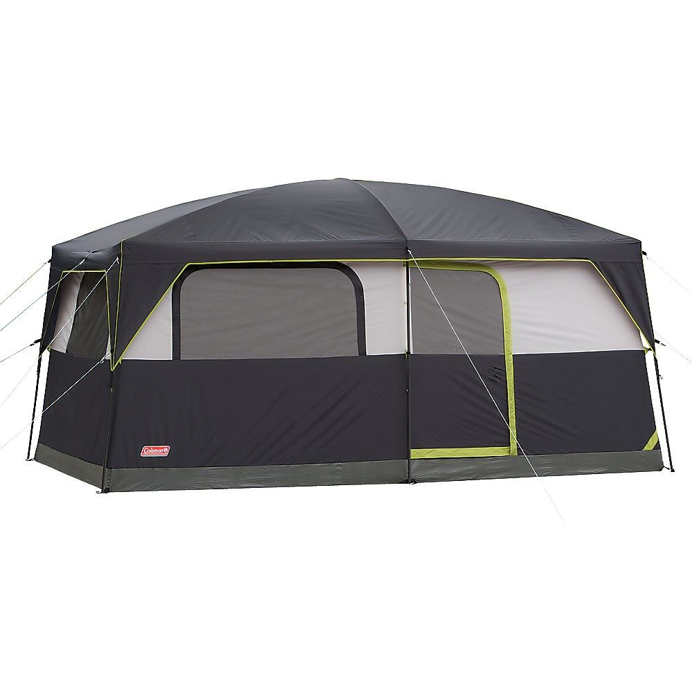 Coleman Prairie Breeze 9 Person WeatherTec C&ing Tent w Fan Light 14 x  sc 1 st  Pinterest & Coleman - PRAIRIE BREEZE™ CABIN TENT $ 300 - includes fan and ...