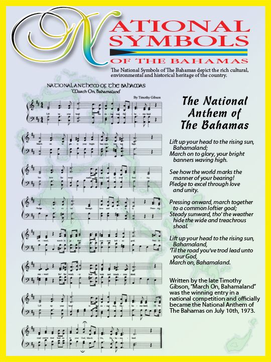 National Anthem March On Bahamaland National Symbols
