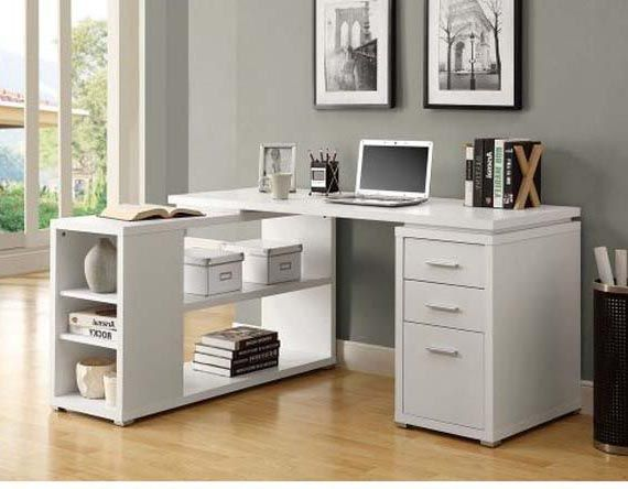 white corner desk. Unique Corner The White Corner Desk Design From Monarch Specialties Will Give You The  Right Choice For Your Work Area Made Of Wood With Attractive Finish Intended White Corner Desk