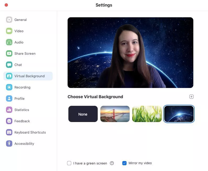How To Change Your Zoom Background Just Like Everyone Else Video Chat App Video Background You Changed