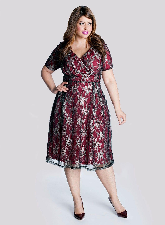 f37e91d5744 marisol pomegranate front new.jpg 1 056 × 1 440 bildepunkter Plus Size Lace  Dress