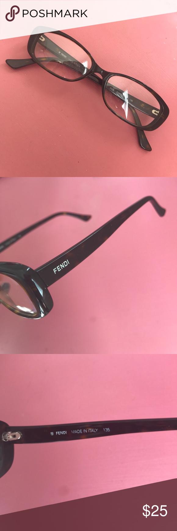 82bc163c7283 Fendi frames Prescription ready optical frames FENDI! Tortoise color  plastic frames. Fendi Accessories Glasses