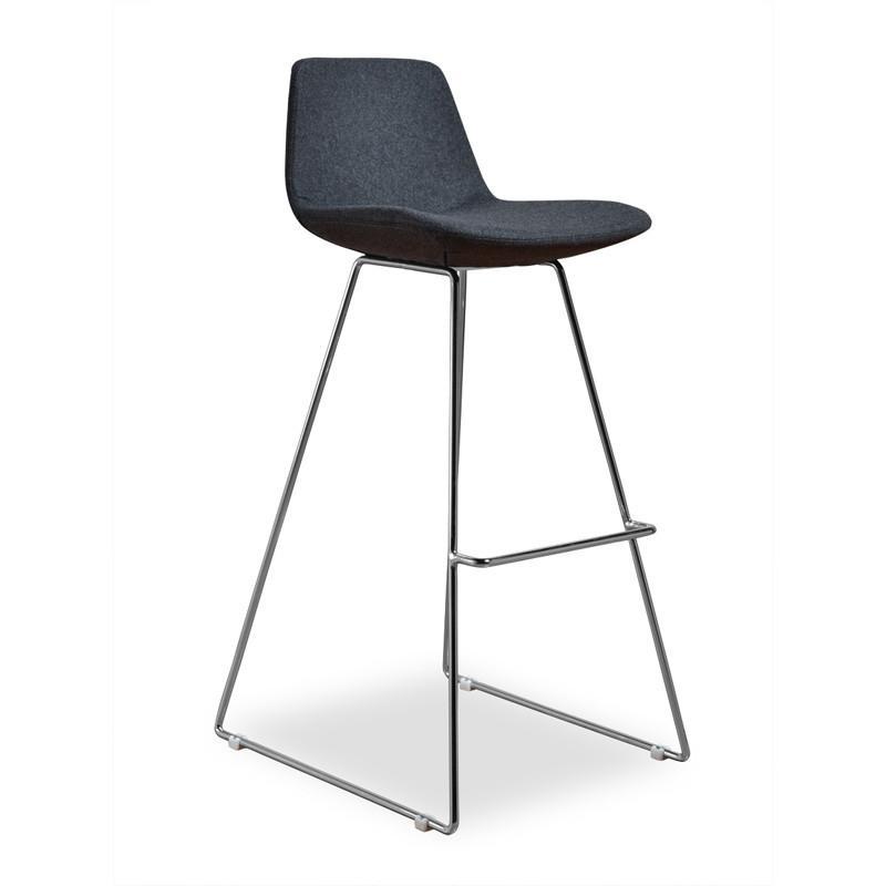 Terrific Aeon Alyssa 2 Barstools Are Crafted From Injection Molded Inzonedesignstudio Interior Chair Design Inzonedesignstudiocom