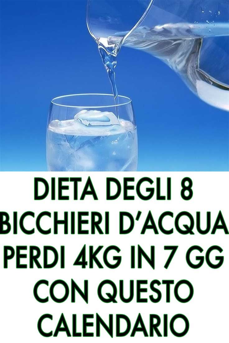 Photo of Diet of 8 glasses of water: Lose 4 kg in 7 days with …