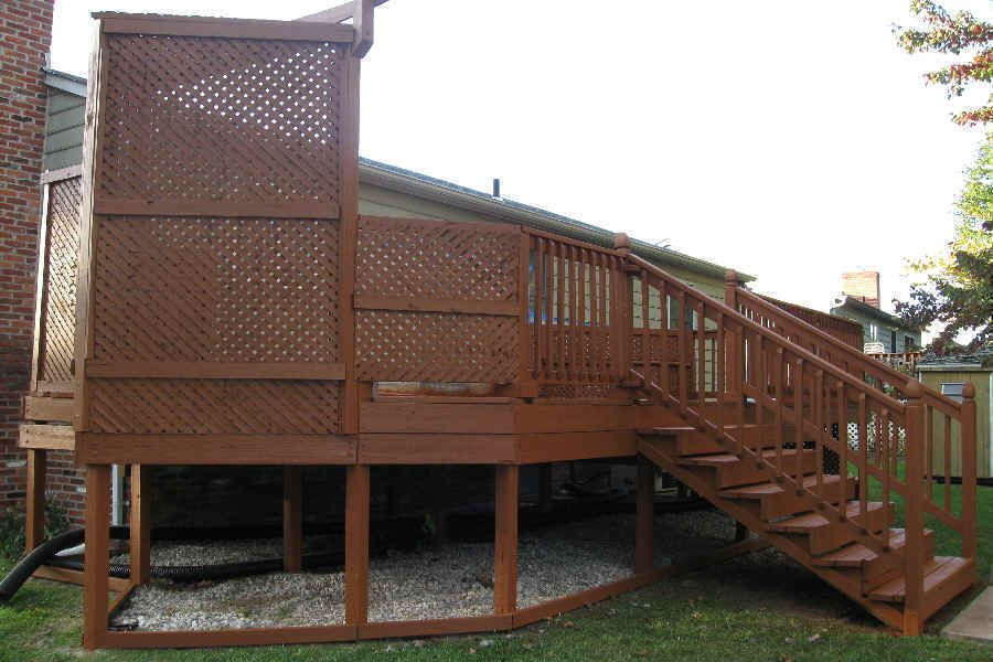 Behr Solid Cappuccino Staining Deck Deck Stain Colors Deck