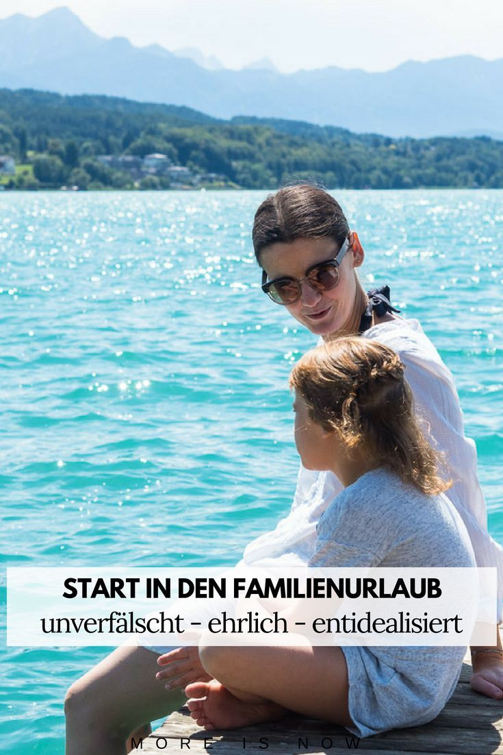 Der Start in den Familienurlaub einer Mama. Von