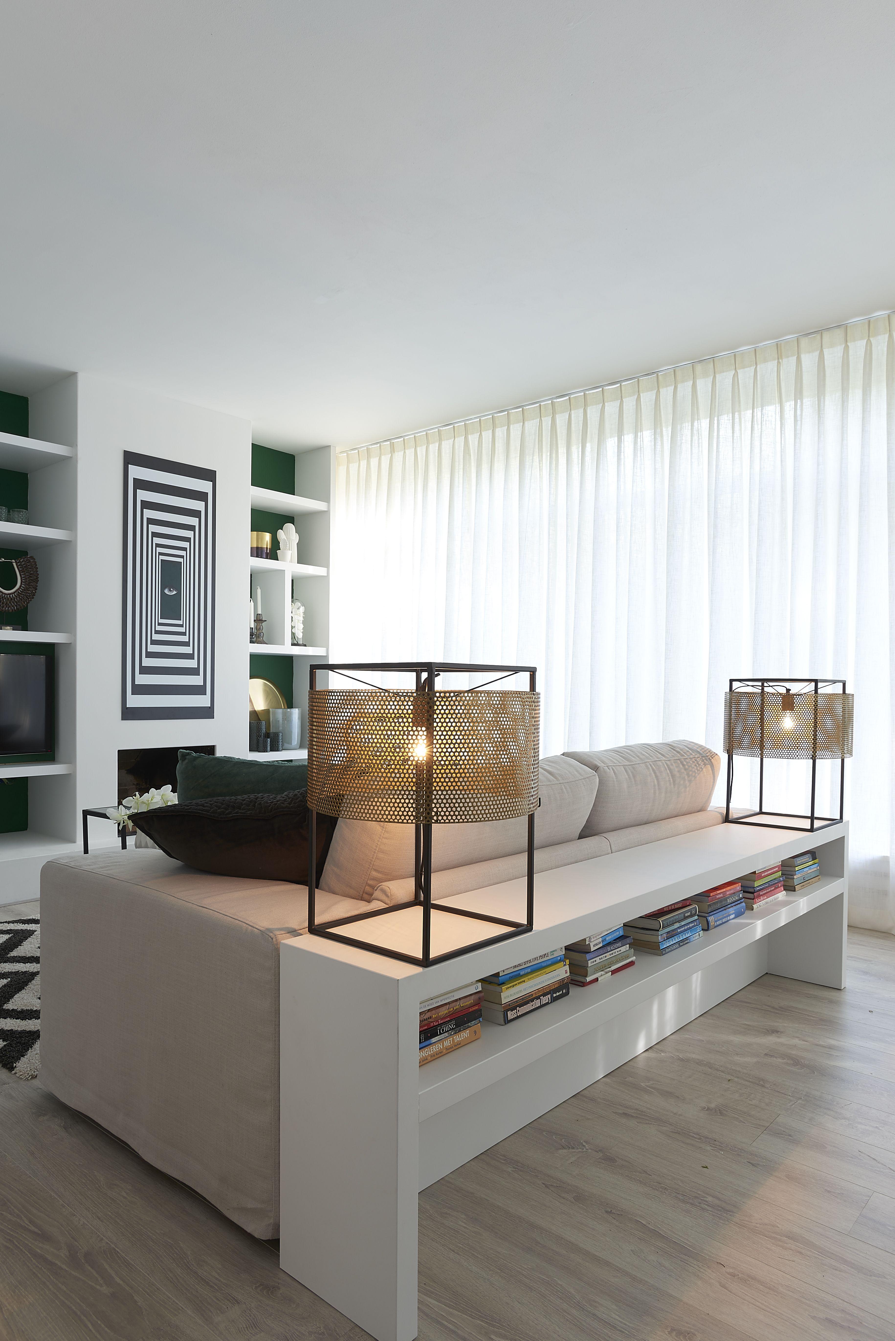 Gordijnen woonkamer modern woonkamer komt donker over door