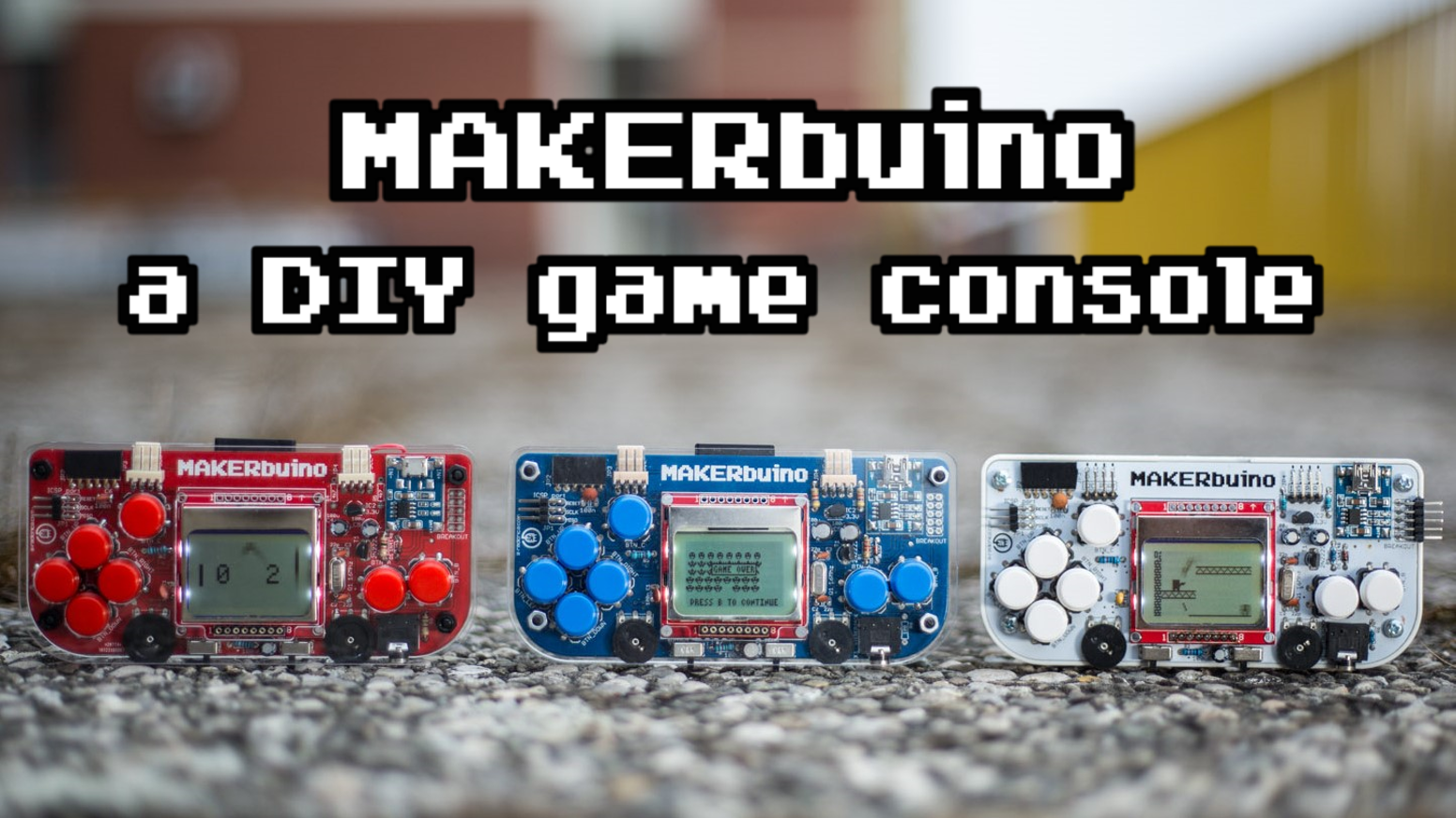 Makerbuino is a handheld retro gaming device that you can build makerbuino is a handheld retro gaming device that you can build yourself its fun educational and hackable solutioingenieria Gallery