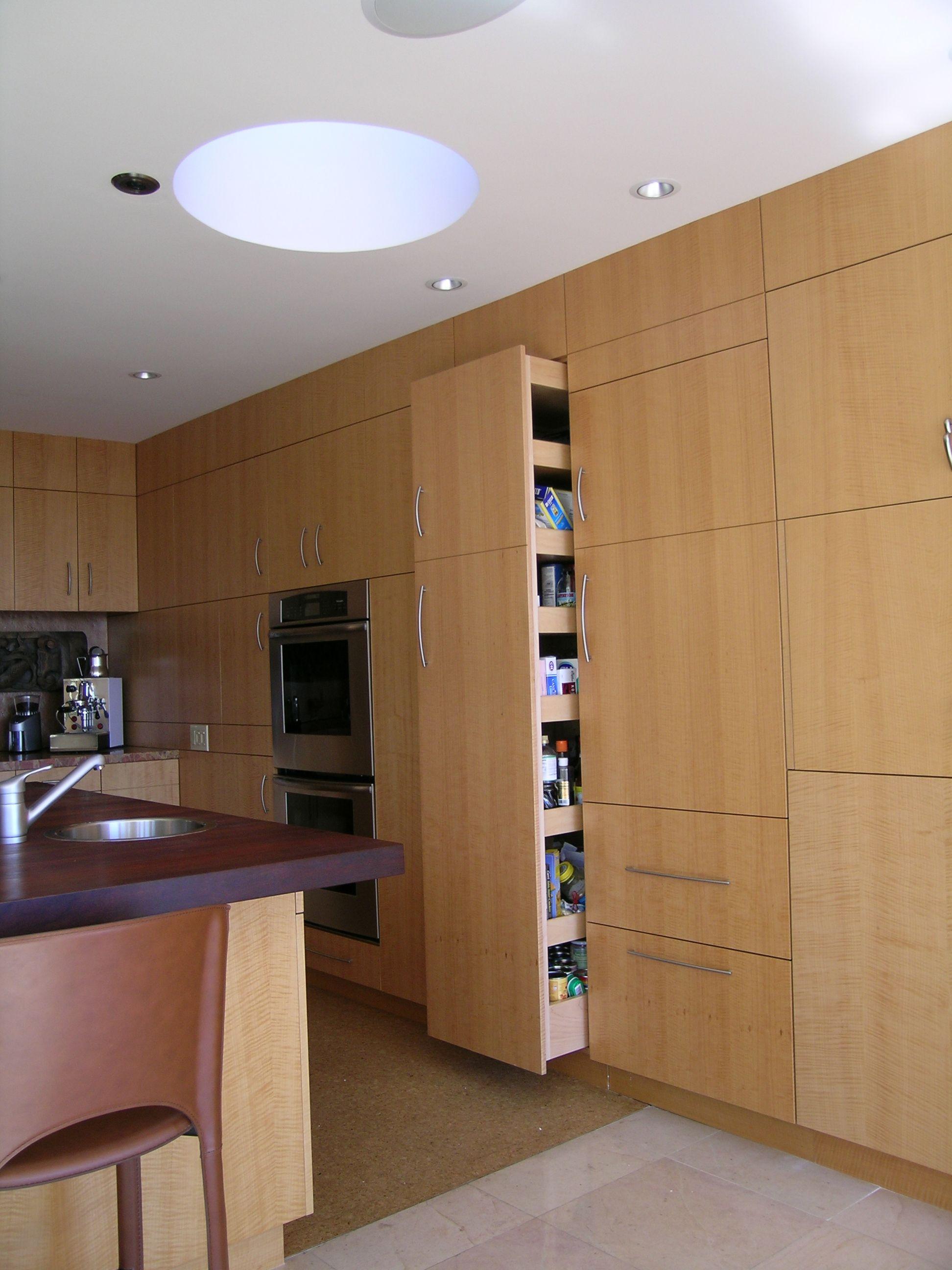Ausgezeichnet Küchendesign Mit Versteckter Speisekammer Bilder ...