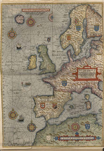 Europa occidental, 1588 by Biblioteca Nacional de España, via Flickr
