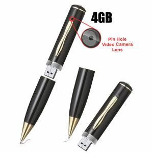 8gb Hd 720p Spy Pen Camera Motion Detection Covert Audio Video Recorder  Hidden Camera Pen Mini Camcorder Micro Spy Cam With Retail Box Pens Video  Pens With ...