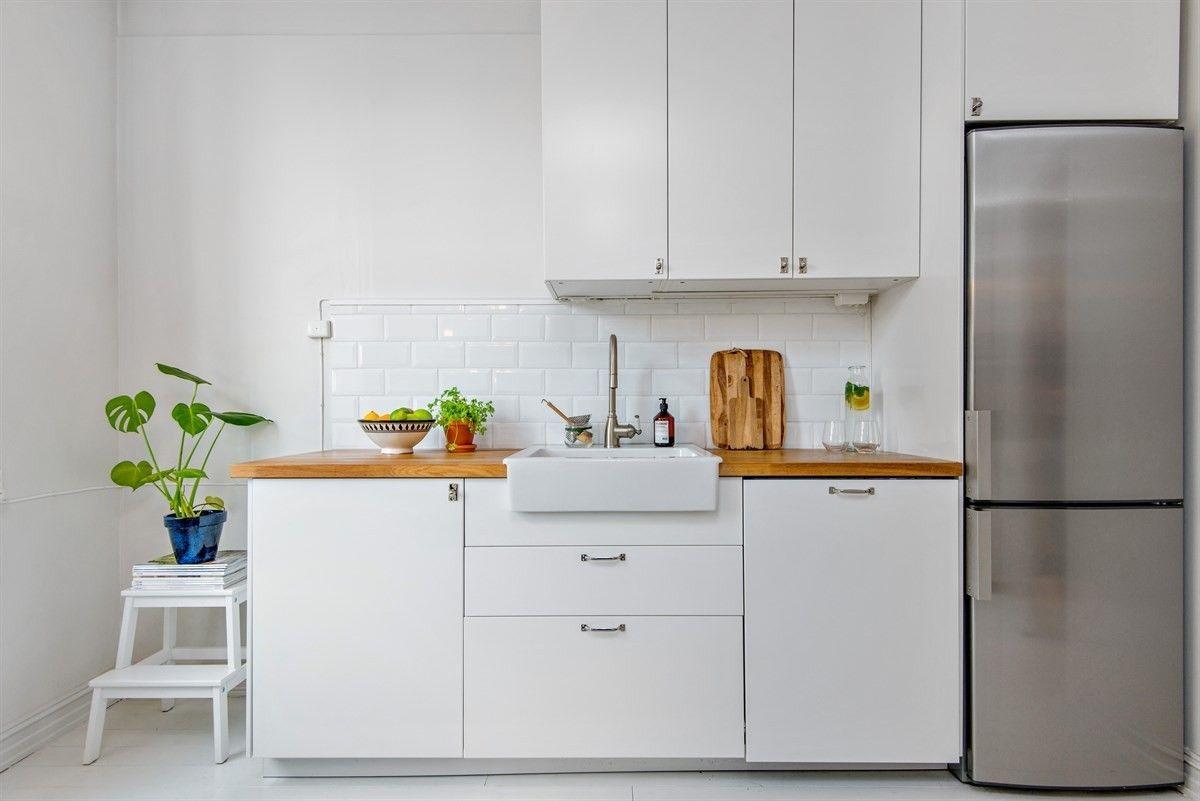 (3) FINN – St.Hanshaugen - Lys og pen 2-roms leilighet med nyere kjøkken og bad. Veldrevet borettslag med fantastisk bakgård